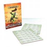 Warhammer Age of Sigmar: Warscroll Cards - Bonesplitterz (DE)
