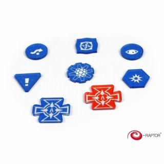 SWX Tokens BLUE Set