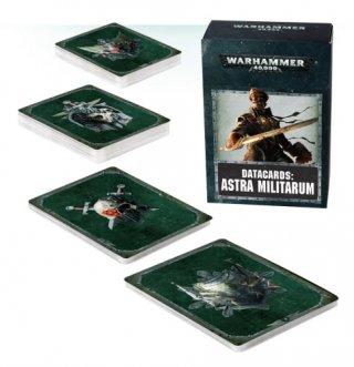 Warhammer 40.000: Cartes Techniques - Astra Militarum (FR)