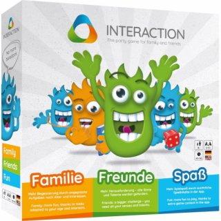 INTERACTION – Das Partyspiel für Familie und Freunde (DE / EN)