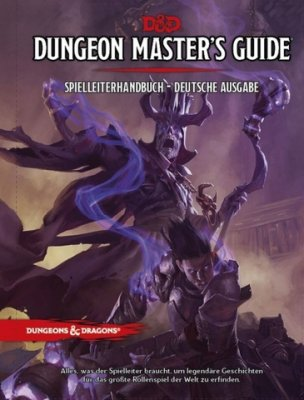 D&D: Dungeon Master`s Guide Spielleiterhandbuch (DE)