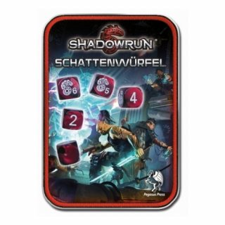 Shadowrun: Schattenwürfel Rot (DE)