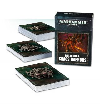 Warhammer 40.000: Cartes Techniques - Chaos Daemons (FR)