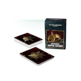 Warhammer 40.000: Datakarten - Adeptus Custodes (DE)