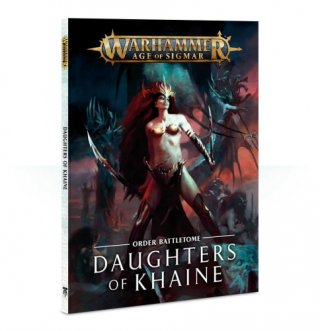 Warhammer Age Of Sigmar: Battletome: Daughters of Khaine Hardcover (ENG)