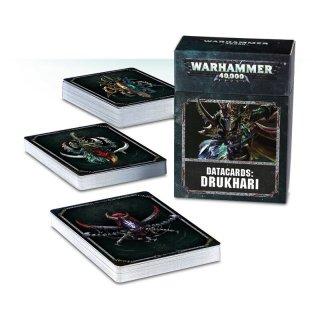 Warhammer 40.000: Datacards - Drukhari (ENG)