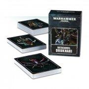 Warhammer 40.000: Cartes Techniques - Drukhari (FR)