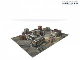 Corvus Belli: Infinity - Kurage Station Scenery Pack