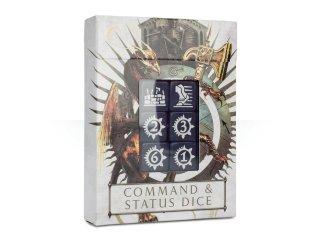 Warhammer Age Of Sigmar: Command & Status Dice/Würfel