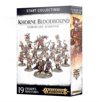 Warhammer Age Of Sigmar: Start Collecting! - Khorne Bloodbound - Goreblade Warband