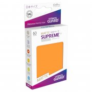 Supreme UX Sleeves Japanese Size Matte (Orange) 60 Stk