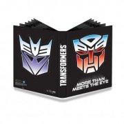UP Transformers - Shields 9-Pocket Pro-Binder
