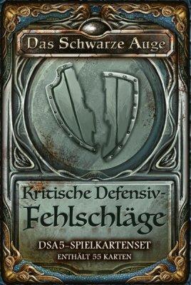 DSA5: Spielkartenset - Kritische Defensiv Fehlschläge (DE)