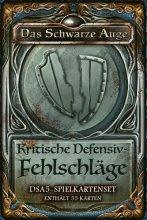 DSA5: Spielkartenset - Kritische Defensiv...