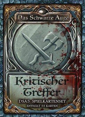DSA5: Spielkartenset - Kritische Treffer (DE)