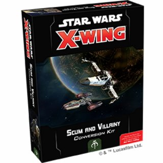 Star Wars: X-Wing Second Edition: Abschaum und Kriminelle Konvertierungskit (EN)