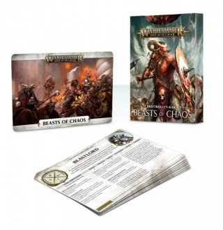 Warhammer Age of Sigmar: Warscroll Cards - Beasts of Chaos (DE)