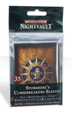 Warhammer Underworlds: Nightvault Stormsires Cursebreakers Standard Size Kartenhüllen / Premium Sleeves (35 Stk)
