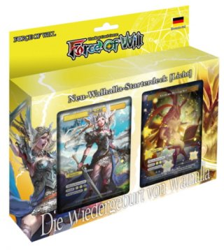 Force of Will - Neu-Walhalla-Starterdeck (Licht) DE