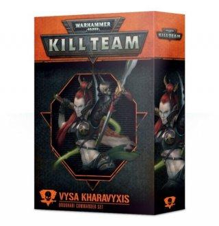 Warhammer 40.000 Kill Team - Vysa Kharavyxis Kommandeursset der Drukhari (DE)