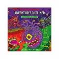 D&D: Adventures Outlined Coloring Book (EN)