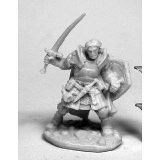 Dark Heaven Bones - Rheagar, Male Fighter