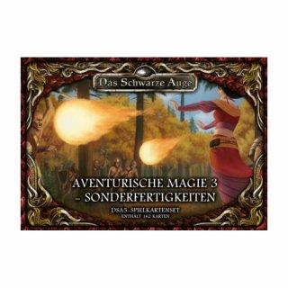 DSA5: Spielkartenset - Aventurische Magie 3 - Sonderfertigkeiten (DE)