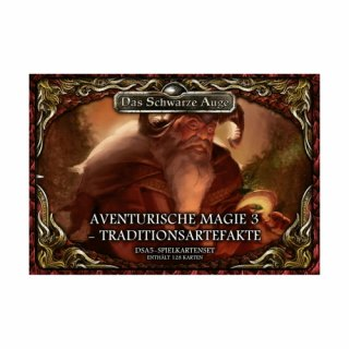 DSA5: Spielkkartenset - Aventurische Magie 3 - Traditionsartefakte (DE)