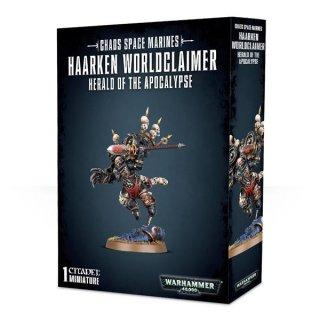 Warhammer 40.000: Chaos Space Marines - Haarken Worldclaimer Herald of the Apocalypse
