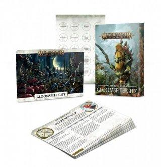 Warhammer Age of Sigmar: Warscroll Cards - Gloomspite Gitz (DE)