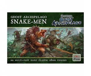 Frostgrave: Ghost Archipelago Snake-Men