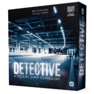 Detective - A Modern Crime Board Game (EN)