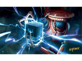 Keyforge Positron Bolt PlayMat