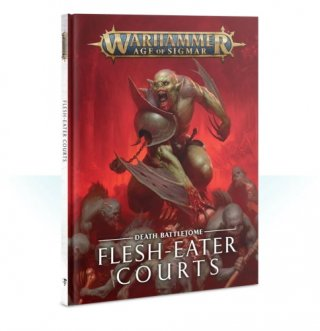Warhammer Age Of Sigmar: Death Battletome - Flesh-Eater Courts Hardcover (ENG)