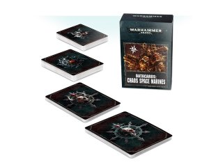 Warhammer 40.000: Cartes Techniques - Chaos Space Marines (FR)