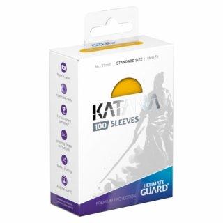 Katana Sleeves Standard Size (Yellow) 100 Stk