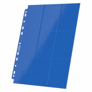 Ultimate Guard: 18-Pocket Side-Loading Pages Blue