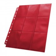 Ultimate Guard: 18-Pocket Side-Loading Pages Red