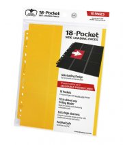 Ultimate Guard 18-Pocket Pages Side-Loading Gelb (10 Stk)