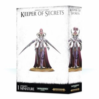 Warhammer Age Of Sigmar: Daemons of Slaanesh - Keeper of Secrets