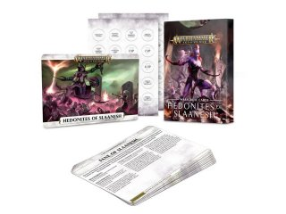 Warhammer Age of Sigmar: Warscroll Cards - Hedonites of Slaanesh (DE)