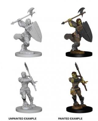 Wizk!dz Deep Cuts - Pathfinder Battles: Half-Orc Female Barbarian (2)