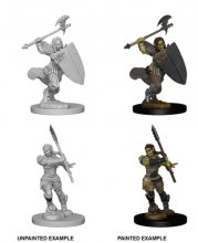 Wizk!dz Deep Cuts - Pathfinder Battles: Half-Orc Female...