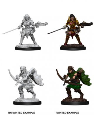 Wizk!dz Deep Cuts - Pathfinder Battles: Female Half-Elf Ranger (2)