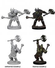 Wizk!dz Deep Cuts - Pathfinder Battles: Half-Orc Male...