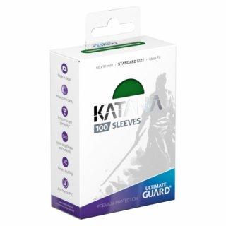 Katana Sleeves Standard Size (Green) 100 Stk