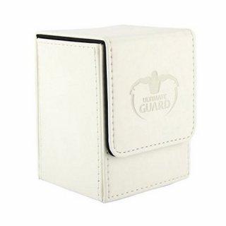 Ultimate Guard: Flip Deck Case 100+ Leatherette (Weiß)