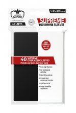 Supreme Sleeves Oversized 91x129mm (Black) 40 Stk