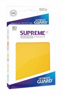 Ultimate Guard - Supreme Sleeves - Yellow / Gelb (80 Stk)