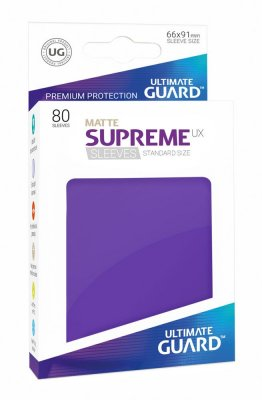 Ultimate Guard - Supreme Sleeves UX - Matt Violett (80)